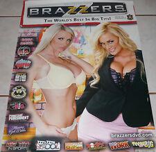 NIKKI BENZ & SHYLA STYLEZ Rare Brazzers Poster!