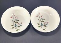 "2 Franciscan Family China Winsome 6 1/4"" Soup Cereal Bowls"