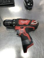 MILWAUKEE 2407-20 M12 12-Volt Lithium-Ion Cordless 3/8 in. Drill/Deiver