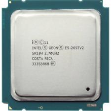 Intel Xeon E5-2697 V2 2.7GHz 12 Core 30M LGA2011 130W SR19H CPU Processor