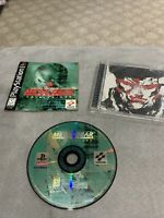 Metal Gear Solid: VR Missions (Sony PlayStation 1, 1999) Complete, Tested