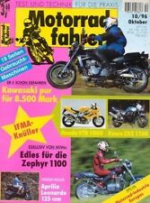 MF9610 + Fahrberichte KAWASAKI ER-5 + WiWo-Zephyr + Motorradfahrer 10/1996