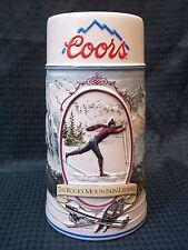 "1991 Coors 7"" Tall ROCKY MOUNTAIN LEGEND SERIES Tankard Stein"