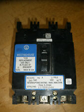 WESTINGHOUSE RE3090 90 AMP 3 POLE CIRCUIT  BREAKER 240 VAC