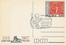 Poland postmark WARSZAWA - sport football world championship