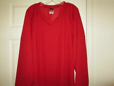 Alleson Athletic Team Scarlet Red Hockey Jersey New Mens SMALL
