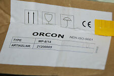 ORCON 21200005 SERVICETEIL VENTILATOR MP-8 MP-14 SERVICE ONDERDEEL NEU