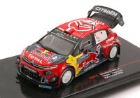 Model Car Rally Scale 1:43 Ixo Model Citroen C3 WRC Finland Rallye 2019