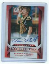 2013 Extra Edition-*Tanner Norton Rookie autograph-Brewers