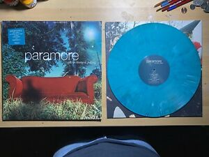 Paramore-All We Know Is Falling Vinyl (2013 Opaque Teal w/ White Marble /500)