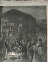 Harper's Weekly Magazine April 2 1898 Matanzas Cuba Frederic Remington