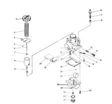 Carburetor For Suzuki Quadrunner 250 LT250EF