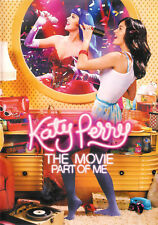 Katy Perry The Movie Part Of Me ~ DVD WS + Untraviolet Digital ~ FREE Shipping