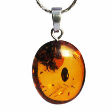 "Less than 13"" Amber Fine Gemstone Necklaces & Pendants"