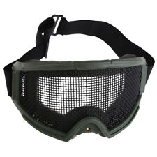 Tactical Metal Mesh Pinhole Glasses Protection Goggle Hunting Airsoft Eyes Sport