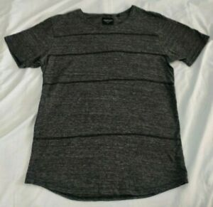 Industrie Mens Casual TShirt Size M Grey Short Sleeve *GC*