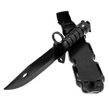 Tactical Knife Model Rubber Dagger Cosplay Training Props with Sheath and Strap