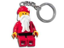 LEGO CHRISTMAS MINIFIGURE - SANTA CLAUS - RARE KEYRING No 850150