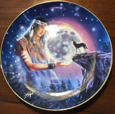 Royal Doulton 90's Franklin Mint Maiden Of Mystical Moon Plate - David Penfound