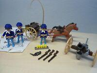 """Playmobil Klicky Set 3729 """"Nordstaadler mit Kanone""""  gebraucht"""