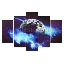 The Earth Space Canvas Wall Decor Art Painting Picture Poster Print No Frame