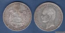 Grèce 5 Drachmes 1876 A TB (2) George Ier - Greece 5 Drachmai