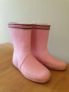 NOA NOA Wellies in Pink Calf High Classic UK Size 3 EU 36