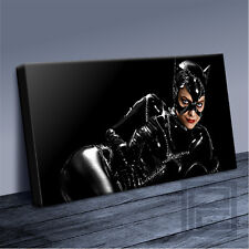 CATWOMAN MICHELLE PFEIFFER AMAZING BATMAN ICONIC CANVAS ART PRINT Art Williams01
