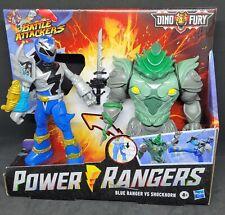Power Rangers Dino Fury Battle Attacks Blue Ranger vs.Shockhorn 2 pack ??