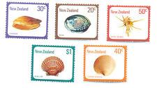 NUOVO zealand-shells-set di 5 MNH