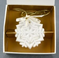 Margaret Furlong 1989 A Winter Jewel Snowflake Ornament Christmas Original Box