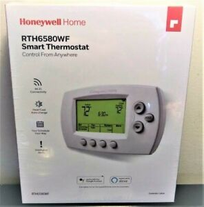 Honeywell Home Wi-Fi 7-Day Programmable Thermostat (RTH6580WF), Requires C Wire