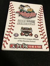 2019 Tri-City Valley Cats Baseball Pocket Schedule Astro's Farm Team