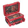Teng Tools 118 Piece Screwdriver, Plier, Hammer, Sockets, Wrench Tool Kit - SCE1