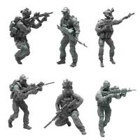 1/35 YUFAN Model Modern Army Soldier Resin Figure Model W3H1