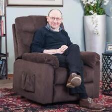 Power Lift Recliner Chair Soft Fabric Living Room Sofa Chair (espresso Fabric)