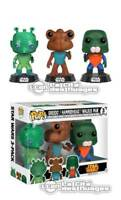 Star Wars POP! Movies Greedo, Hammerhead & Walrus Man NYCC 2017 3-Pack FUNKO