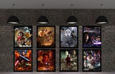 HD Print Oil Painting Home Decor Wall Art On Canvas Star Wars 8PCS Unframed