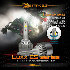 Stark LED 66W 7400LM 6000K 6K White Fog Light Kit - 880 881 893 894 899 Bulbs x2