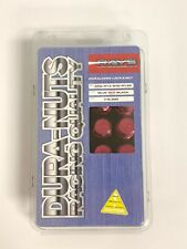 Rays Extended 50mm Red Lug Nuts and Lock Set 12x1.50