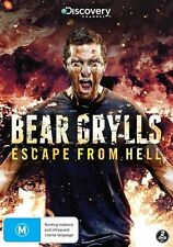 Bear Grylls Escape From Hell : brand NEW sealed DVD discovery channel