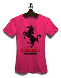 Fibonacci Ferrari Damen T-Shirt Nerd Geek Bedruckt Parodie Parody Fun Sprüche