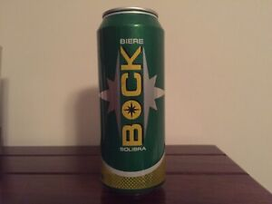 OCOC - empty beer can from Ivory Coast: BOCK (READ DESCRIPTION)