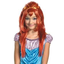 WINX CLUB BLOOM RED WIG ANIME COSPLAY FAIRY PRINCESS MERMAID HALLOWEEN XMAS GIFT