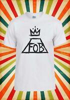 Fall Out Boy FOB Music Boy Band Men Women Vest Tank Top Unisex T Shirt 101E