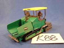 K88 VOGELE SUPER 1900 DIE CAST TRACKED ROAD PAVERS GREEN 1/50 SCALE GERMAN