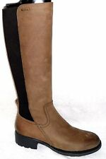 NEW ROCKPORT FIRST STREET GORE DISTRESSED CAKE WAXY WP LEATHER TALL BOOTS 7 M