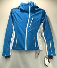 Nils Turi Women's Winter Snow Ski Jacket Blue White Size 10 NEW