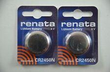 Renata 2x CR2450 / DL2450 / ECR2450 / LM2450 / CR2450N 3V Lithium Battery Batter