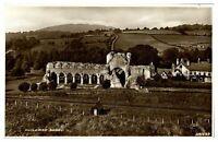 Antique RPPC real photograph postcard Buildwas Abbey Shropshire